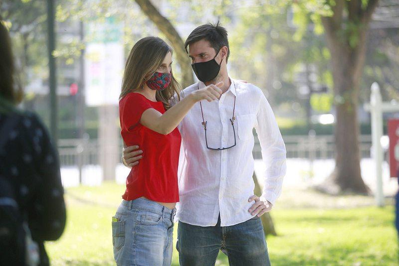 Darko Peric, marido de Josefina Montané, lanzó su campaña a alcalde