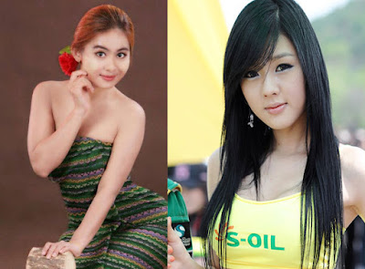 moe kya shwe ko myanmar girl