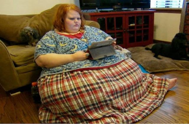 Γυναίκα χάνει 206 κιλά