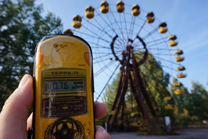 Kokemuksia Tshernobylistä ja ydinvoimalaonnettomuudesta - päiväretki Kiovasta Pripyatiin: Hylätyt paikat ja autiot talot. Retken järjesti Chernobylwel.come