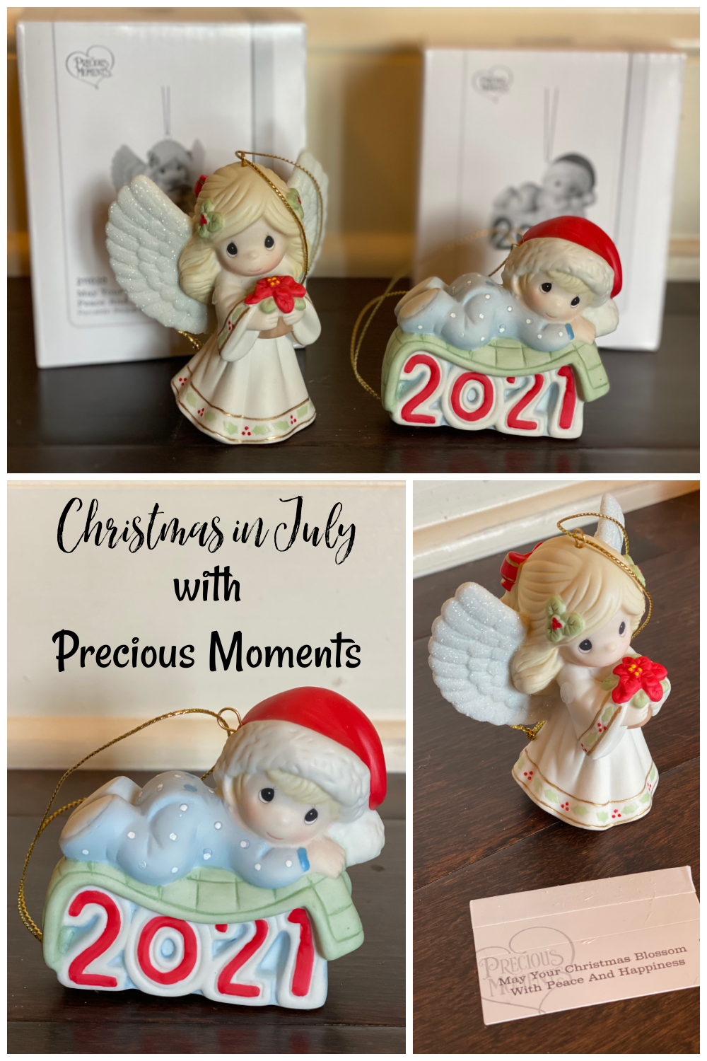 Christmas in July with Precious Moments