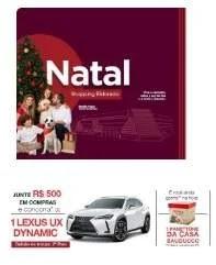 Promoção Shopping Eldorado Natal 2019 Ganhe Panetone na Hora e Concorra Carro Lexus