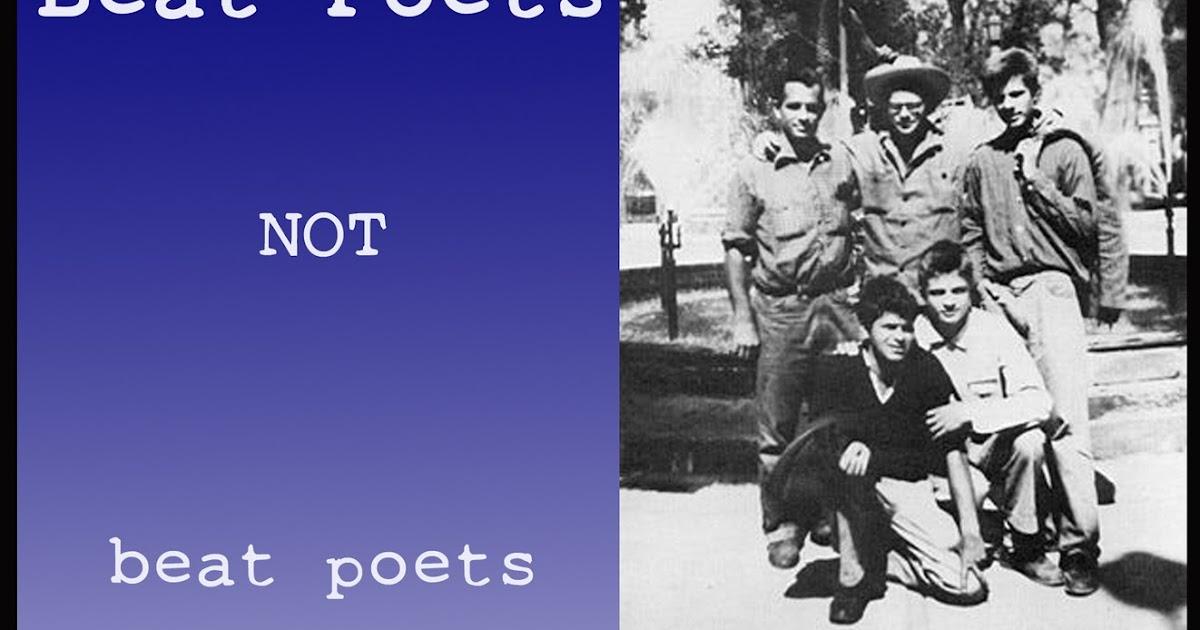 Beat Poets not beat poets #Occupy