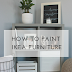 The easiest IKEA hack; How to paint IKEA furniture