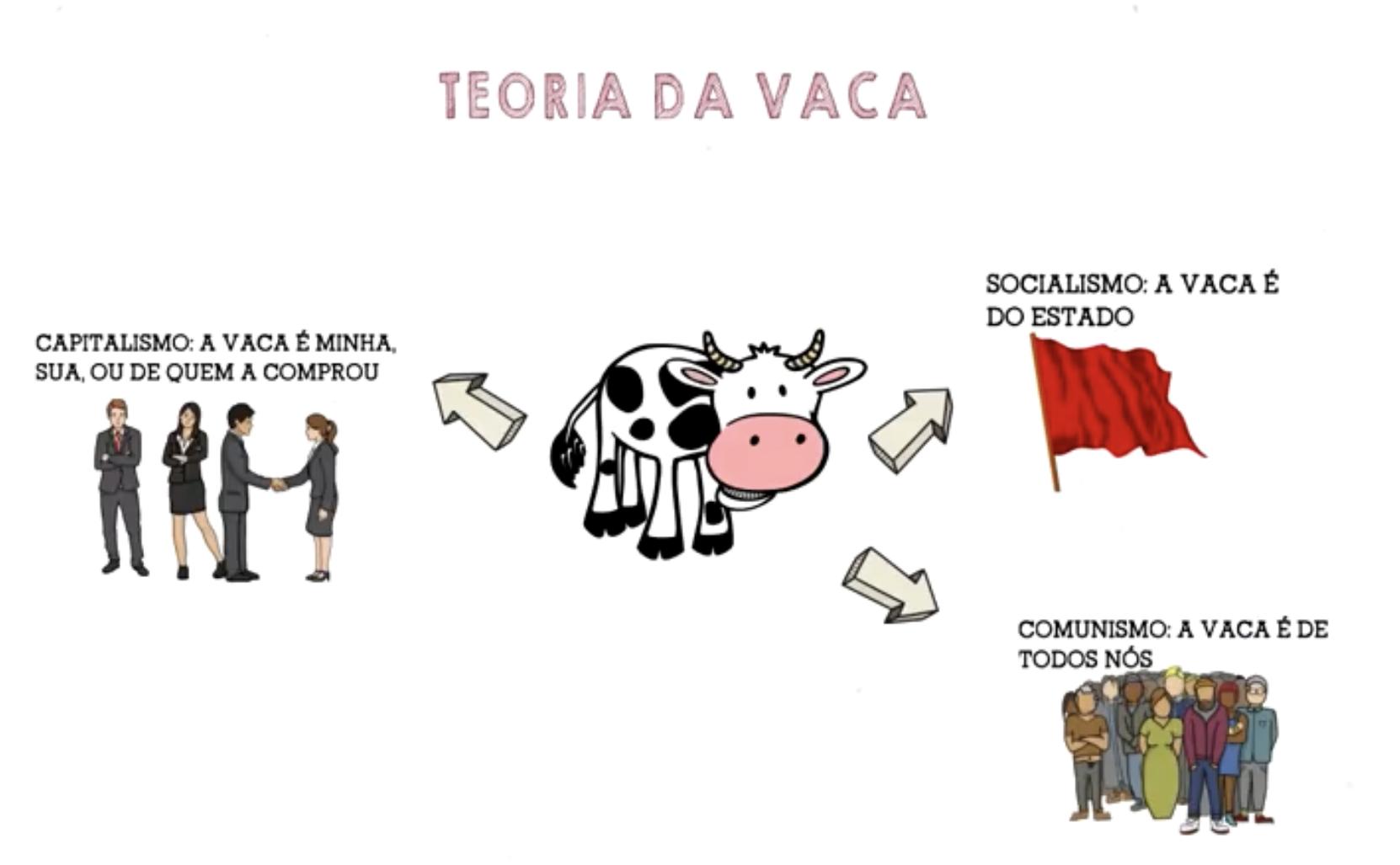 Teoria da Vaca - Créditos: Canal Parabólica