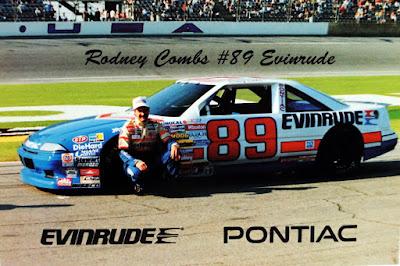 Rodney Combs #89 Evinrude Racing Champions 1/64 NASCAR diecast blog Jim Sauter