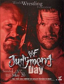WWE / WWF Judgement Day 2001 - Event poster