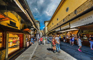 Foto  user32212 por Pixabay - Matéria Ponte Vecchio - BLOG LUGARES DE MEMÓRIA