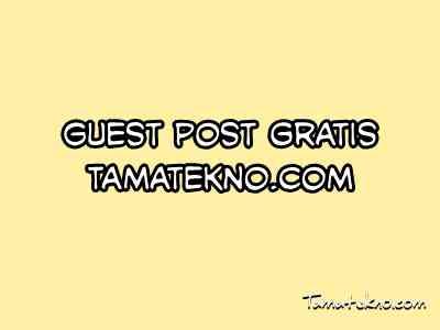 Gambar Guest Post gratis