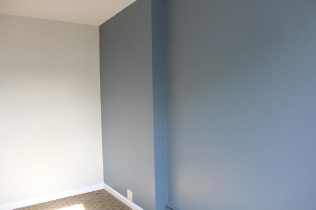 Benjamin Moore Normandy Blue Paint Color
