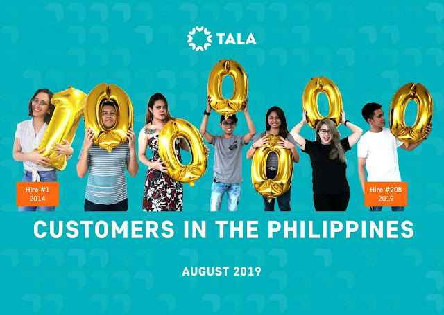 Tala crosses the 1 million mark of customers in the Philippines