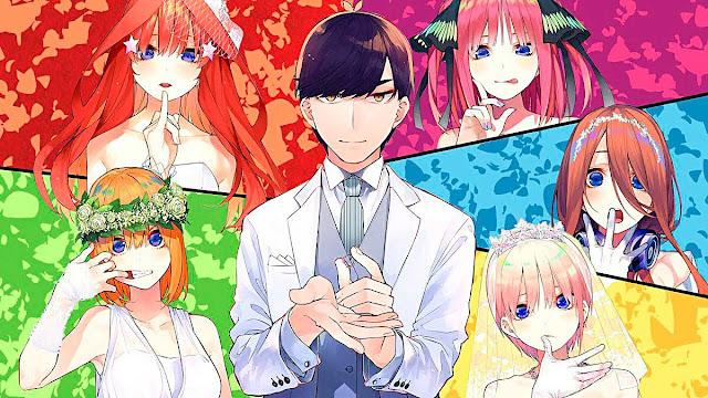 Episodios Go-Toubun no Hanayome : Relleno y Orden Cronológico