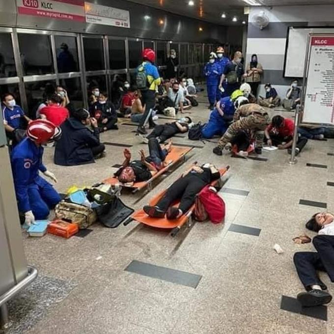 Bantuan RM1,000 Kepada Mangsa Tren LRT Bertembung, Tapi Ramai Tidak Setuju