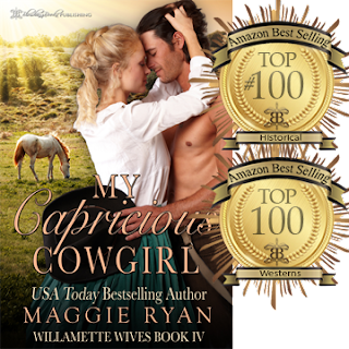 https://www.amazon.com/dp/B01M700POB/ref=sr_1_1?ie=UTF8&qid=1477144336&sr=8-1&keywords=my+capricious+cowgirl+by+maggie+ryan