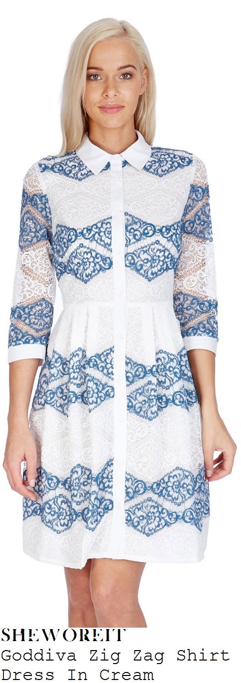 lydia-bright-goddiva-zig-zag-cream-and-blue-floral-lace-shirt-dress