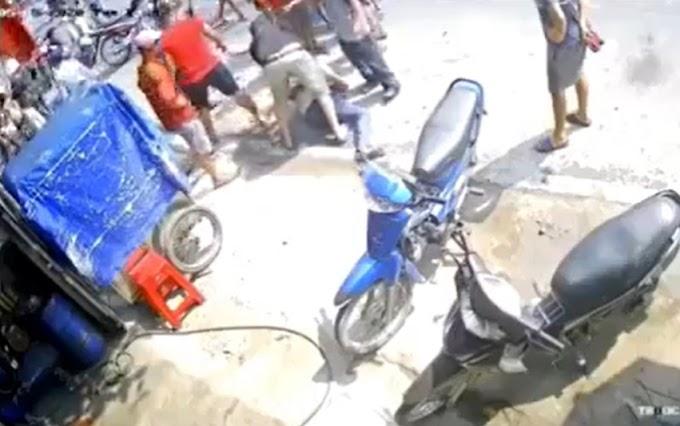 Tên trộm xe máy bị tóm và cái kết tan tành