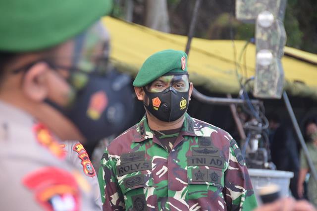 Dandim 0207/Simalungun Hadiri Upacara Penutupan Latihan Yudhawastu Pramuka Yang Ditutup Oleh Pangdam l/BB
