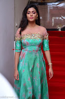 Anisha Ambrose sizzles in cute Green Anarkali Dress at Fashion TV F Club Saloon Launch ~  Exclusive 029.JPG