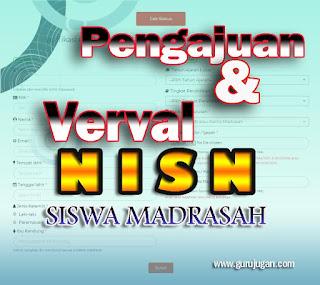 Cara Pengajuan dan Verval NISN Siswa Madrasah