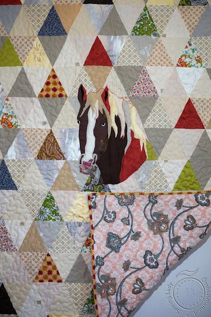 horse quilt, lapitekk lastele