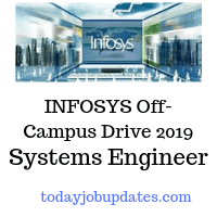 INFOSYS Off-Campus Drive 2019