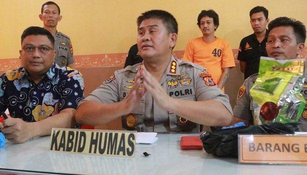 Polda Sulsel Amankan, Pengedar Sabu Senilai Rp 1,5 Miliar Asal Malaysia Diamankan