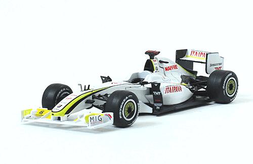Brawn GP 001 2009 Jenson Button f1 the car collection