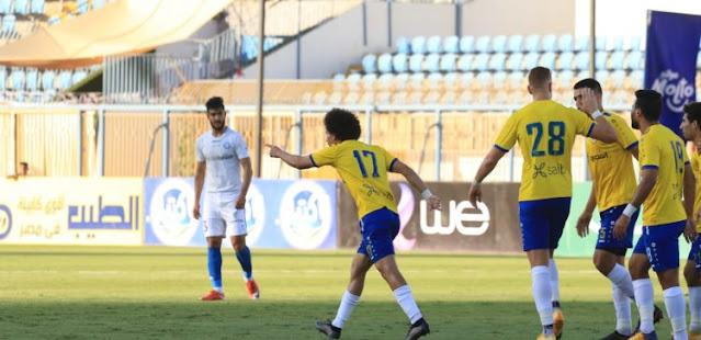 ملخص اهداف مباراة الاسماعيلي واسوان (3-2) الدوري المصري