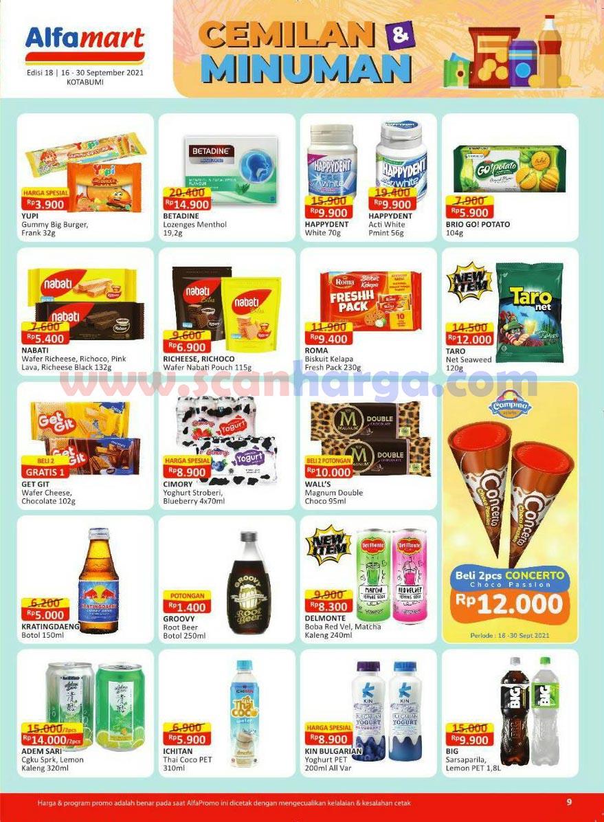 Katalog Alfamart Promo Terbaru 16 - 30 September 2021 10