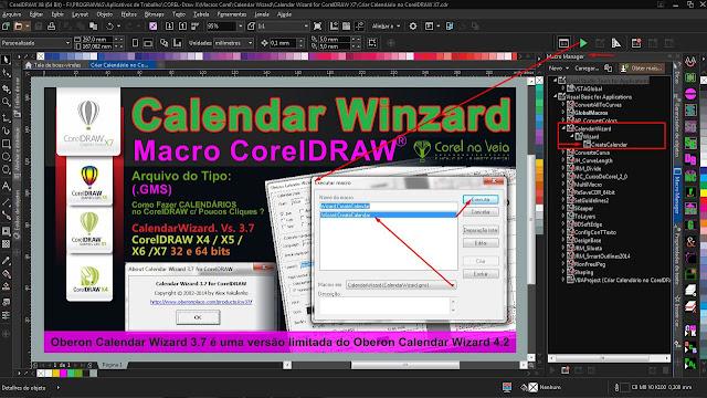 Calendário CorelDRAW