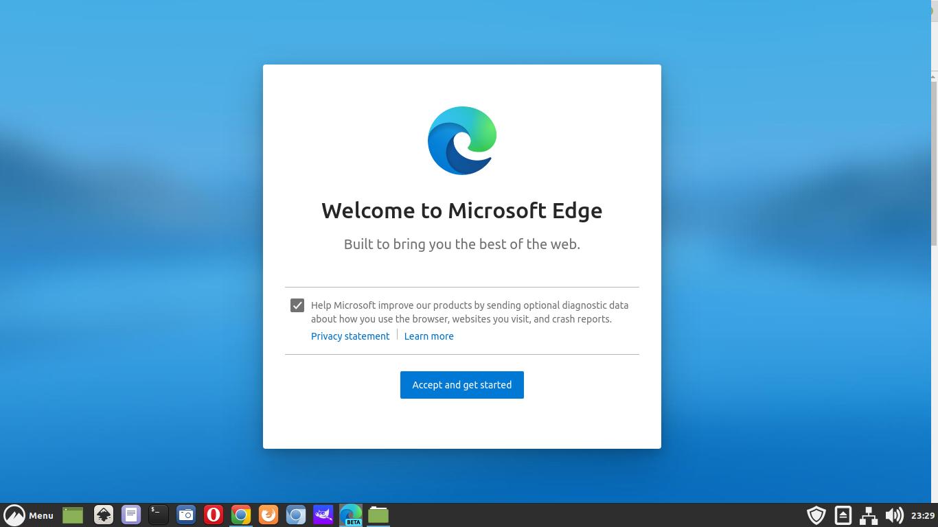 Cara Install Browser Microsoft Edge di Linux Mint