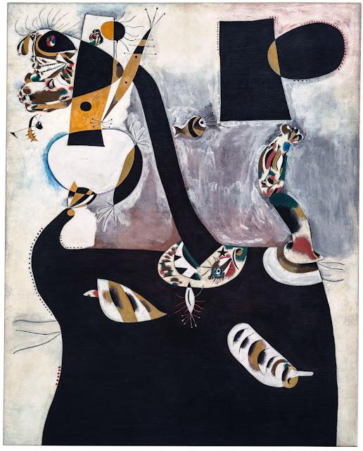 27 February 1940 worldwartwo.filminspector.com Seated Woman II Joan Miró