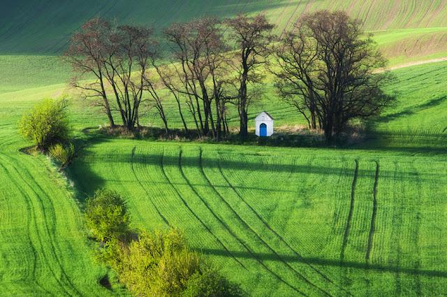 الطبيعة الساحرة في منطقة مورافيا التشيكية