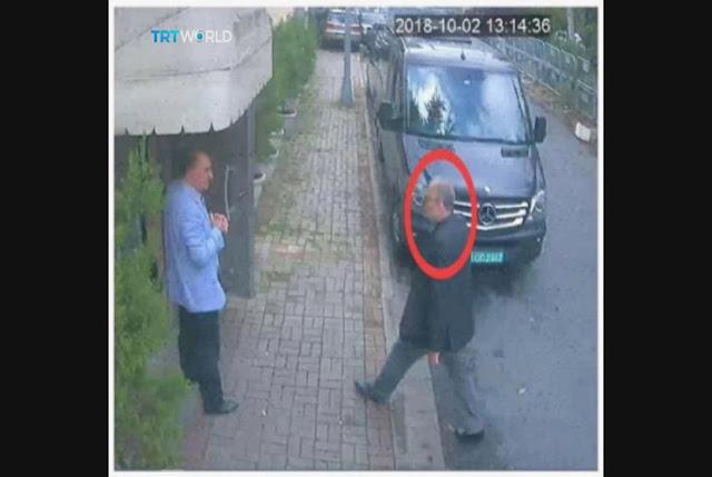 Terekam CCTV, Pelaku Pembunuhan Menyamar Sebagai Khashoggi