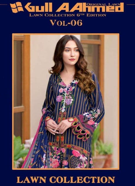 Gull Aahmed Lawn Collection Vol 5 Pakistani Suits