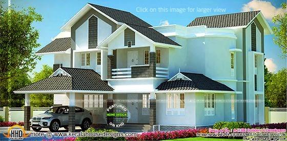 Modern Kerala home
