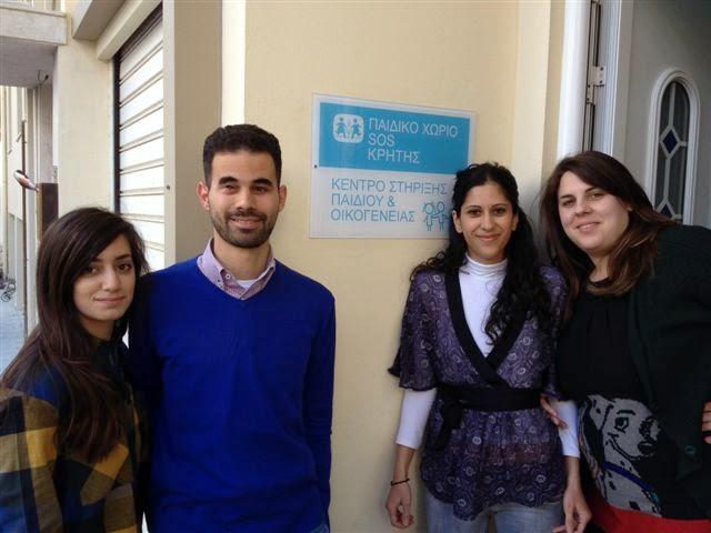 c391d4c177f Το Κέντρο Στήριξης Παιδιού και Οικογένειας στο Ηράκλειο Κρήτης επισκέφθηκε  τον περασμένο Οκτώβρη ο Αντιδήμαρχος Ιλίου και Επικεφαλής της Νεολαίας του  ...