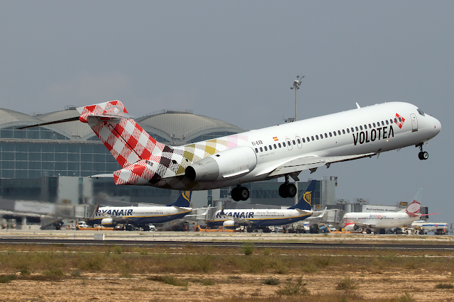 Volotea anuncia nuevas rutas a Ibiza, Palma de Mallorca y Menorca