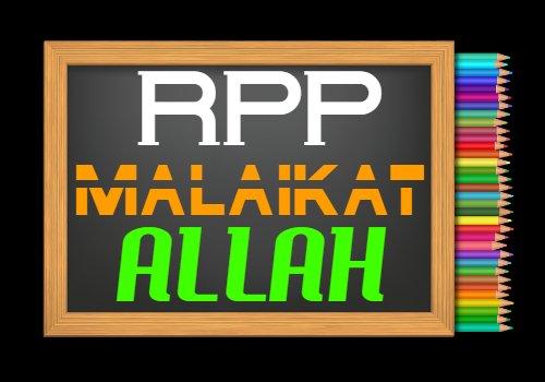RPP PAI Kelas 7 Semester 2 Tahun 2020/2021, Materi Iman Kepada Malaikat Allah SWT