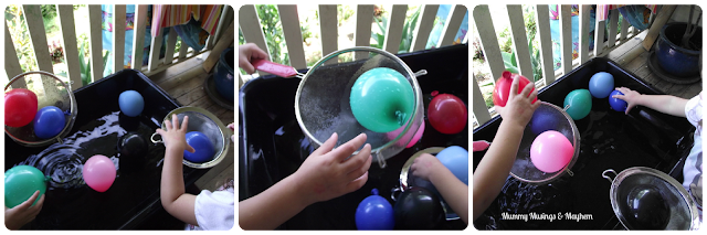 Fine motor balloon activities