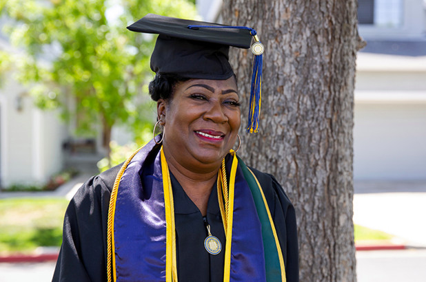 Jules Patrice Means, a 67-year-old great-grandmother, is graduating from UC Berkeley with a degree in sociology.