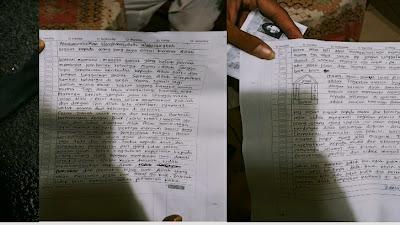 Sebelum Serang Mabes Polri, ZA Pamit dan Tinggalkan Surat Wasiat, Begini Isinya