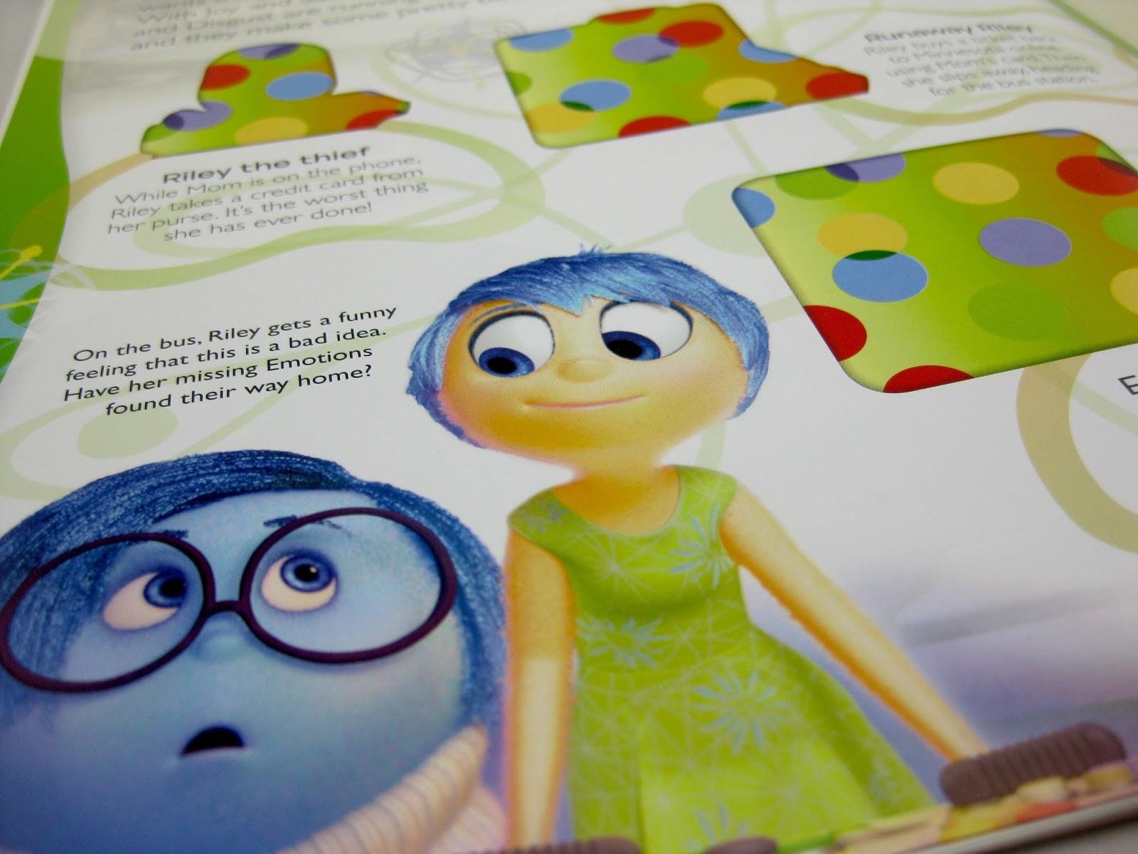 Dan the Pixar Fan: Inside Out: DK Ultimate Sticker Book