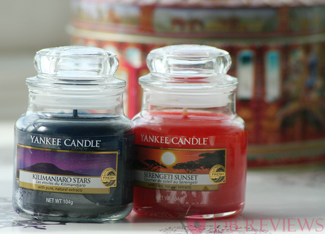 Kilimanjaro Stars and Serengeti Sunset - Yankee Candles