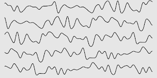 Some lines that was drew with 2D noise.