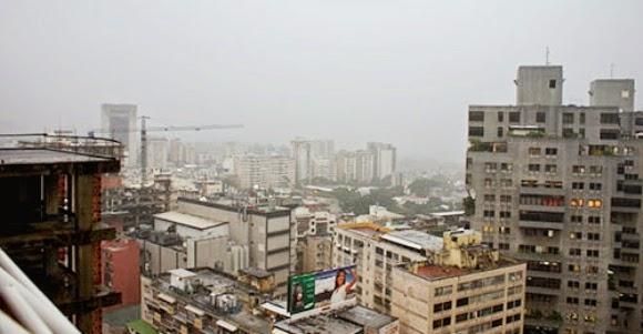 Caracas lluviosa
