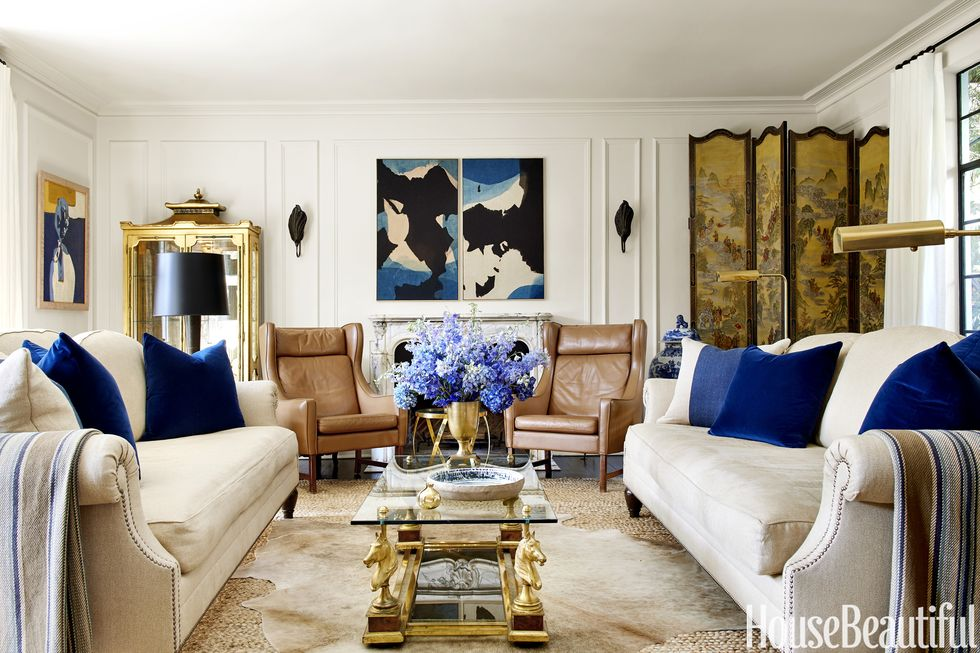 A movie executive's glamorous West Hollywood home