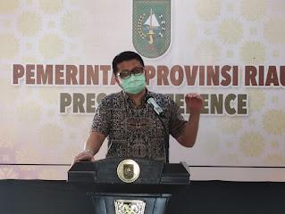 Satgas Covid-19 Riau Minta Kabupaten/Kota Jangan Kendorkan Prokes