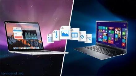 كيفية نقل الملفات من جهاز كمبيوتر يعمل بنظام Windows إلى MAC