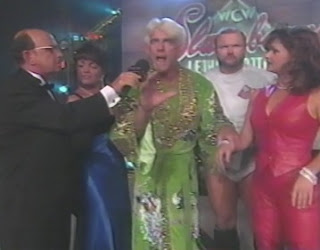 WCW Slamboree 1996 Review - The Nature Boy Ric Flair called out Steve 'Mongo' McMichael